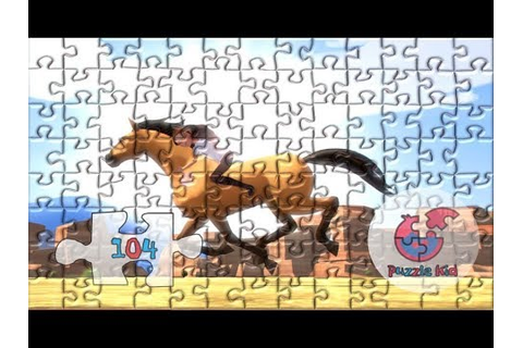 Spirit Riding Free Puzzle Kid Nursery Puzzle Games - YouTube