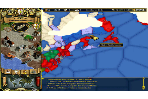 Europa Universalis 2 GamePlay - YouTube