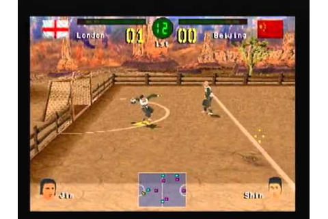 PS1 - Chris Kamara's Street Soccer - Match 4 - London vs ...