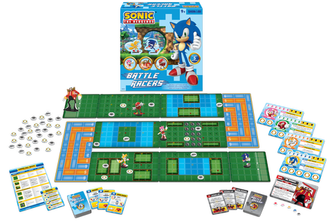 Sonic the Hedgehog: Battle Racers Board Game Announced ...