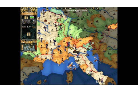 EUropa Universalis 2.Online game for 8 players Part 1 ...