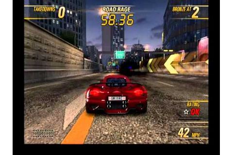 Burnout Revenge - Gameplay [PS2][HQ] - YouTube