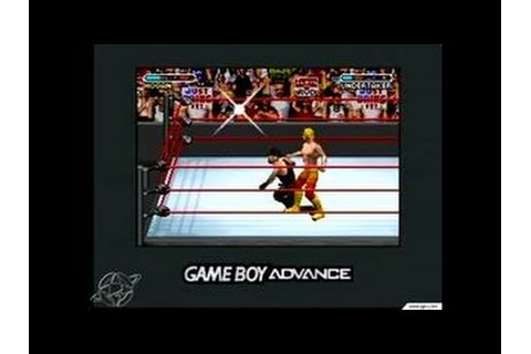 WWE Road to WrestleMania X8 Game Boy Gameplay - YouTube