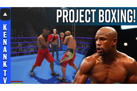 *FOOTAGE*NEW Boxing Video Game BEING MADE! | Project ...