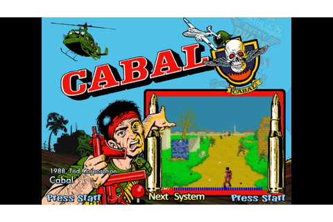 Cabal (Arcade) - YouTube