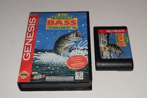 TNN Outdoors Bass Tournament '96 Sega Genesis Video Game ...