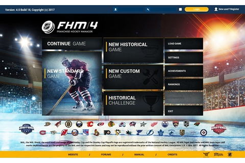Franchise Hockey Manager 4 Game - Free Download Full ...