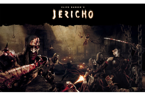 Just Walls: Clive Barker's Jericho Game Wallpaper