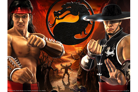 Mortal Kombat Shaolin Monks PS2 Game Wallpapers | HD ...