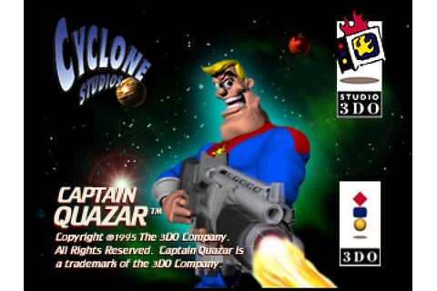 Captain Quazar (1995) by 3DO 3DO game