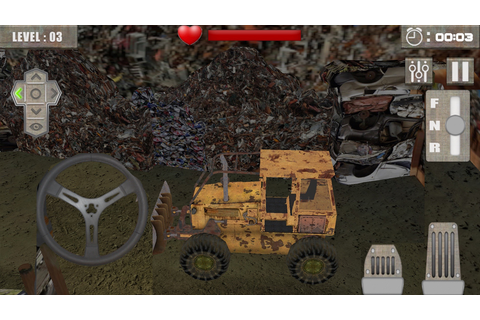 App Shopper: Messy Junkyard Driving Simulator (Games)