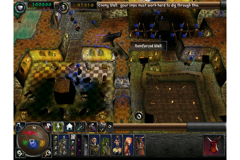 Dungeon Keeper 2 Game Play