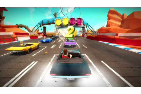 JOY RIDE TURBO First Time Game Play XBOX LIVE ARCADE GAME ...