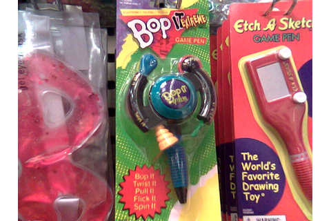 """Bop it"" on a pen! 