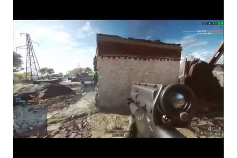 Battlefield 4 (BF4): Lucky XM25 Airburst Kill (PC) - YouTube