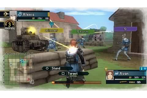 Valkyria Chronicles II : Online Games Review Directory