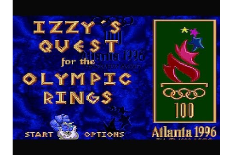 SNES Izzys Quest for the Olympic Rings Cheat Stage Select ...