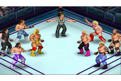 Fire Pro Wrestling Returns - WWF Legends vs. WCW Legends ...