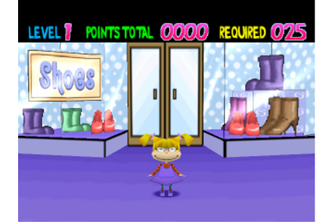 Play Rugrats - Totally Angelica Sony PlayStation online ...