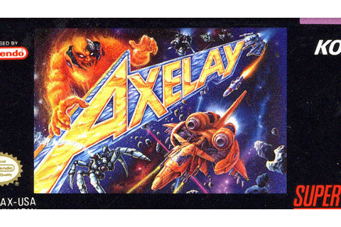 Classic Game Room - AXELAY review for Super Nintendo - YouTube