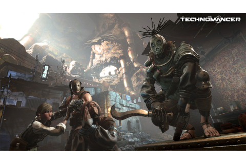 Wallpaper The Technomancer, best games, PS 4, Xbox One, PC ...