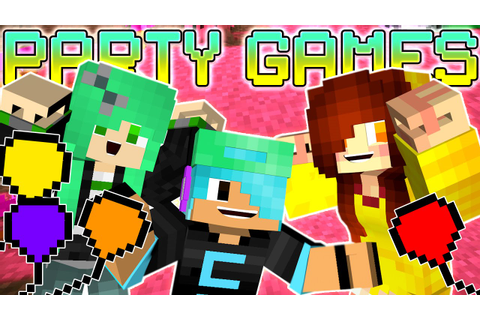 Minecraft Party Games with Gamer Chad & SallyGreen | Fun ...