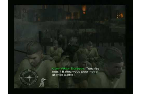 Call Of Duty : Le jour de Gloire Playstation 2 - YouTube