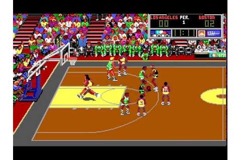 Lakers Vs Celtics and the NBA Playoffs (PC game) - YouTube