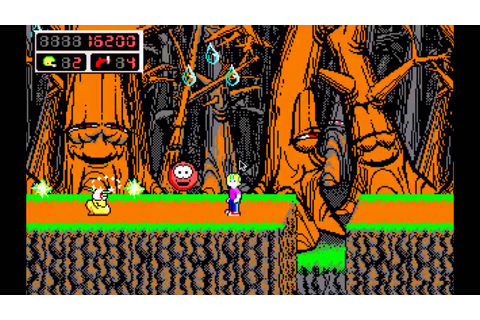 Commander Keen 4 Funny Gameplay - YouTube