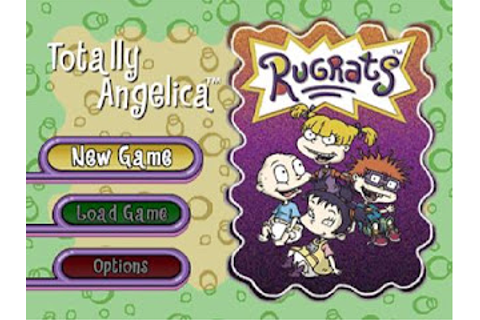 Rugrats Totally Angelica PS1 ISO - Download Game PS1 PSP ...