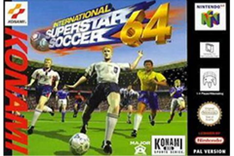 International Superstar Soccer 64 - Wikipedia