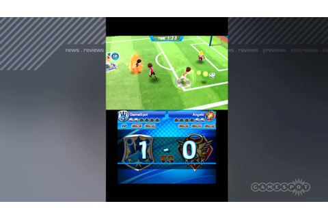 Deca Sports Extreme soccer / football Gameplay Movie (3DS ...