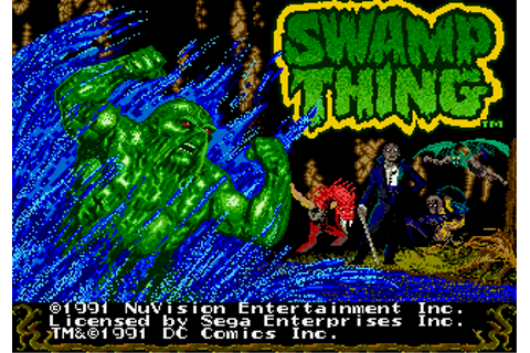 Swamp Thing (prototype) (GEN) Game - Sega Genesis ...