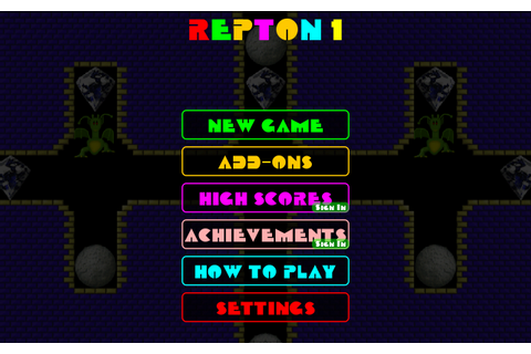 repton 1 is a fascinating puzzle game featuring our friend repton as ...