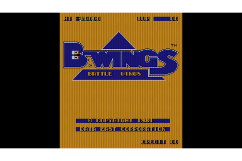 B-Wings (Arcade Game Intro) - YouTube