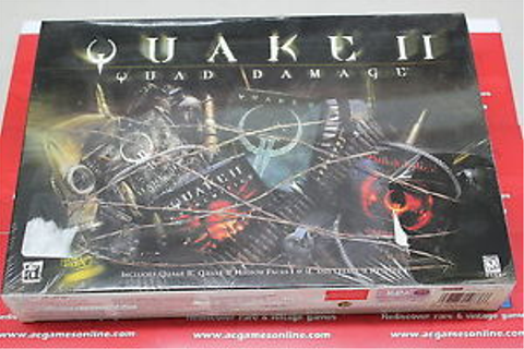 Quake II: Quad Damage (PC, 1999) Factory Sealed, rip in ...