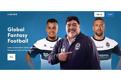 Football legend Diego Maradona arrives on the blockchain ...