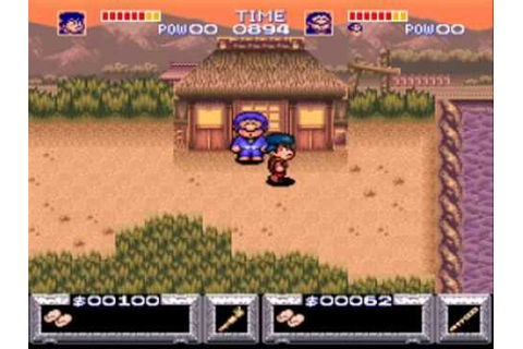 Let's Play The Legend of the Mystical Ninja - #2. The ...