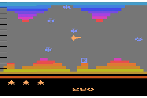 Game review: Atari Vanguard for #Atari 2600 | 4-way ...