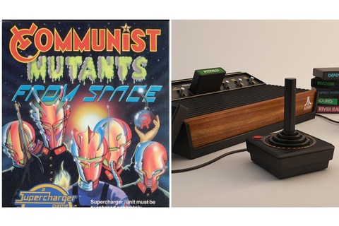 Communist Mutants From Space - game review - Atari 2600 ...