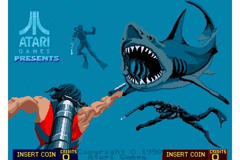 Thunder Jaws (1990) Arcade game
