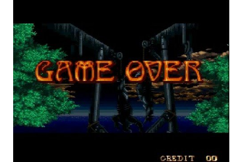 Crossed Swords Game Over Screen - YouTube