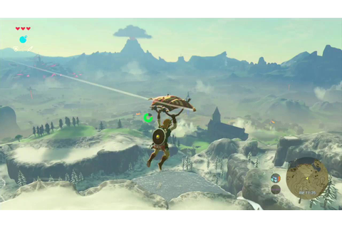 The Legend of Zelda: Breath of the Wild: Aerial Combat and ...