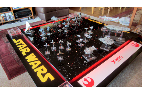 Star Wars: X-Wing Fan Creates Custom Tabletop Gaming Table ...