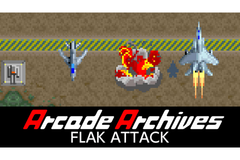 Arcade Archives Flak Attack coming to Switch this week ...