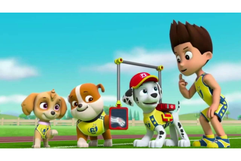 Paw Patrol - Pups Save the Soccer Game #2 - YouTube