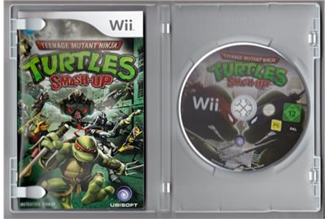 Teenage Mutant Ninja Turtles, Smash Up - Nintendo Wii | eBay