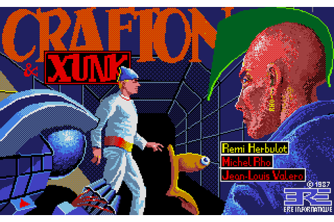 Crafton & Xunk (1987) by ERE Informatique Atari ST game