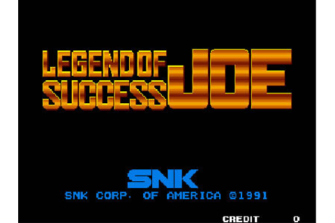 Legend of Success Joe Review for Neo Geo (1991) - Defunct ...