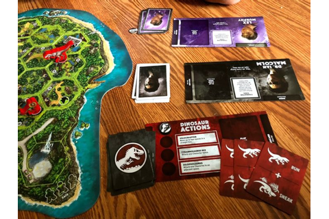 New Board Game – Jurassic Park DANGER! - Outnumbered 3 to 1